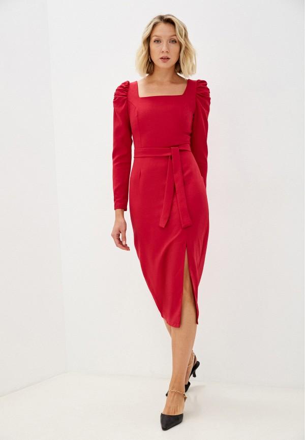 женское вечерние платье pinkkarrot, красное