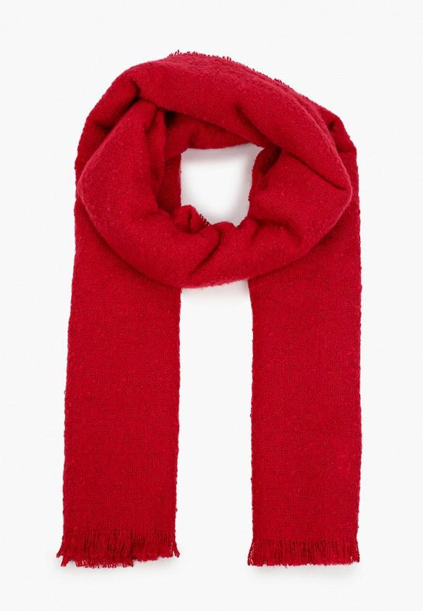 женский палантин united colors of benetton, красный