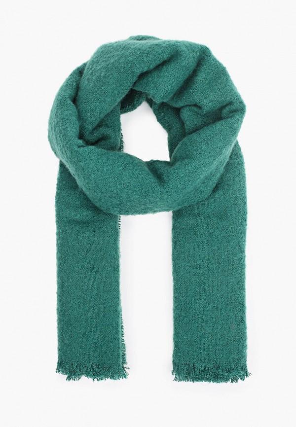 женский палантин united colors of benetton, зеленый