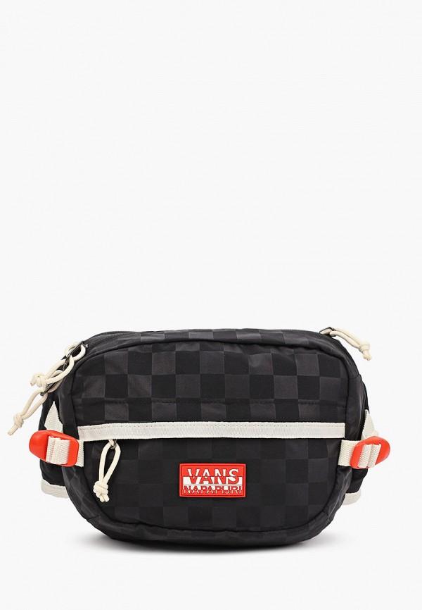 женская поясные сумка vans, черная
