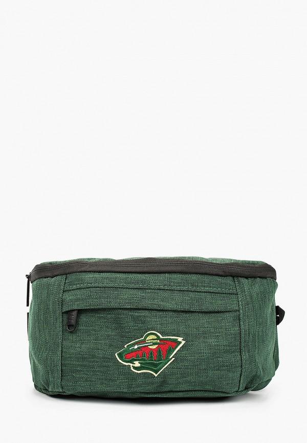 женская поясные сумка atributika & club, зеленая