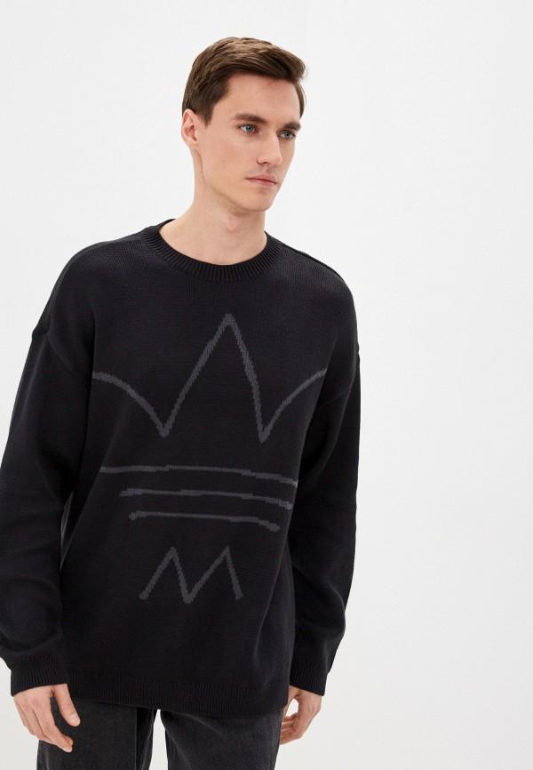 мужской джемпер adidas, черный