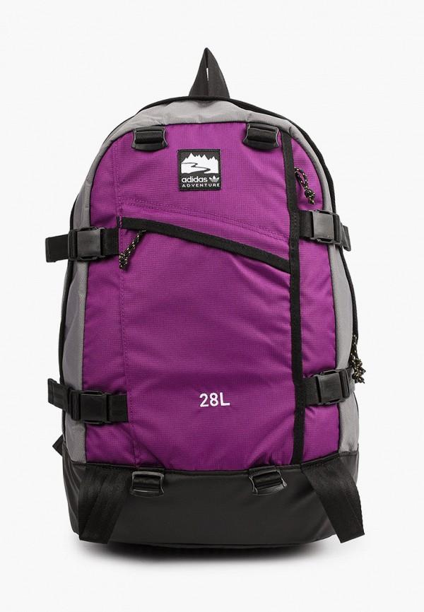 женский рюкзак adidas, фиолетовый
