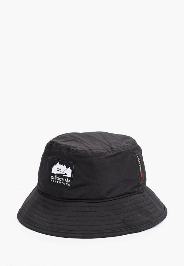 женская панама adidas, черная