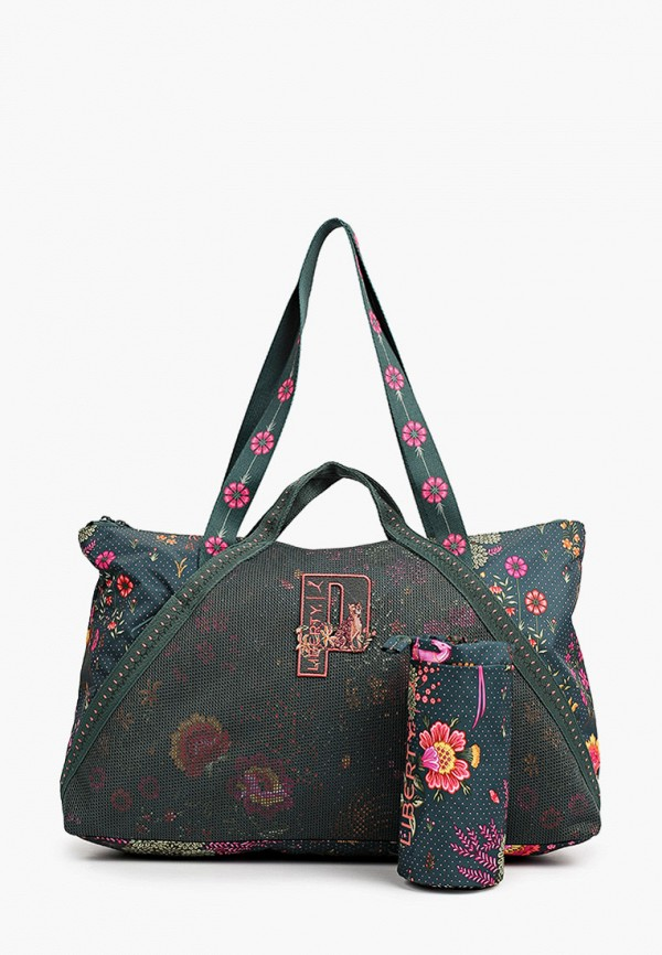 женская спортивные сумка puma, зеленая