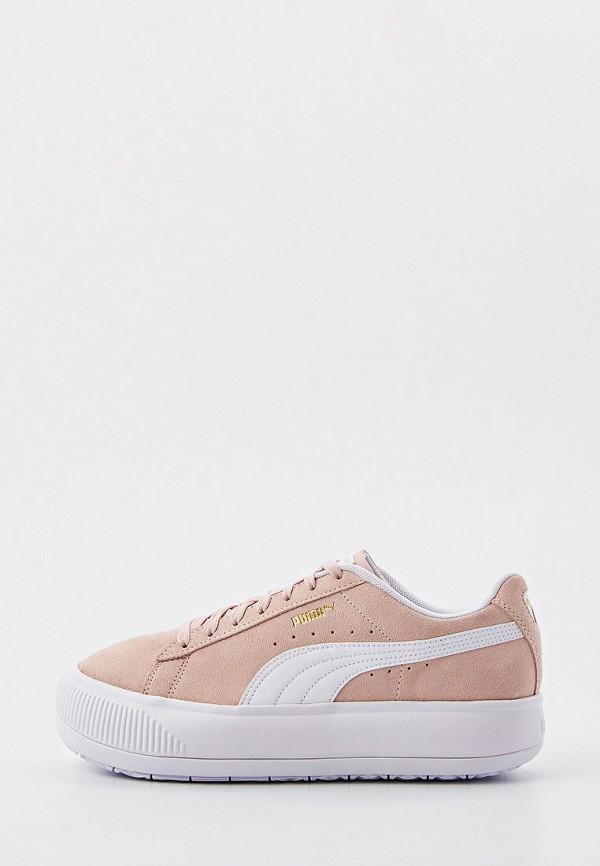 Кеды PUMA розового цвета