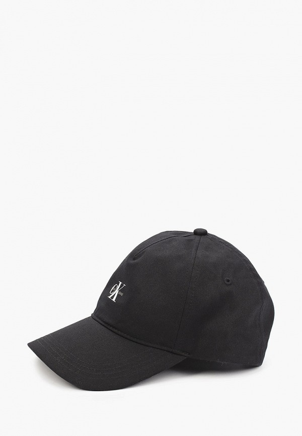 женская бейсболка calvin klein, черная
