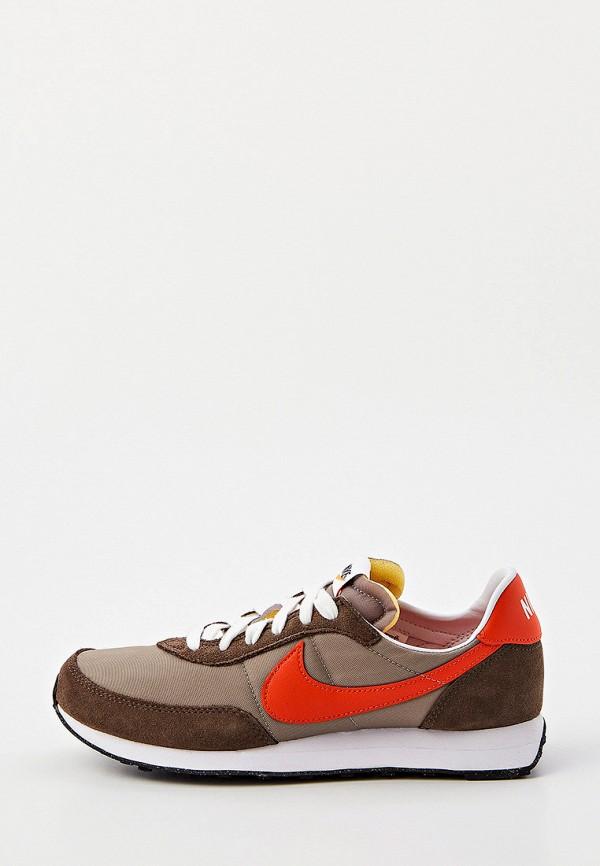 кроссовки nike для мальчика, коричневые