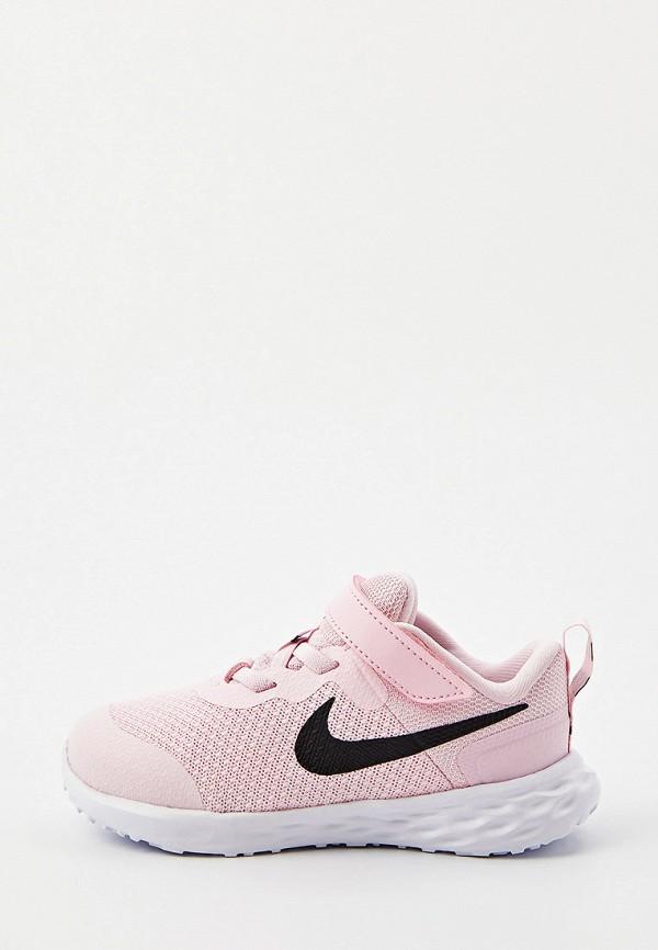 кроссовки nike малыши, розовые