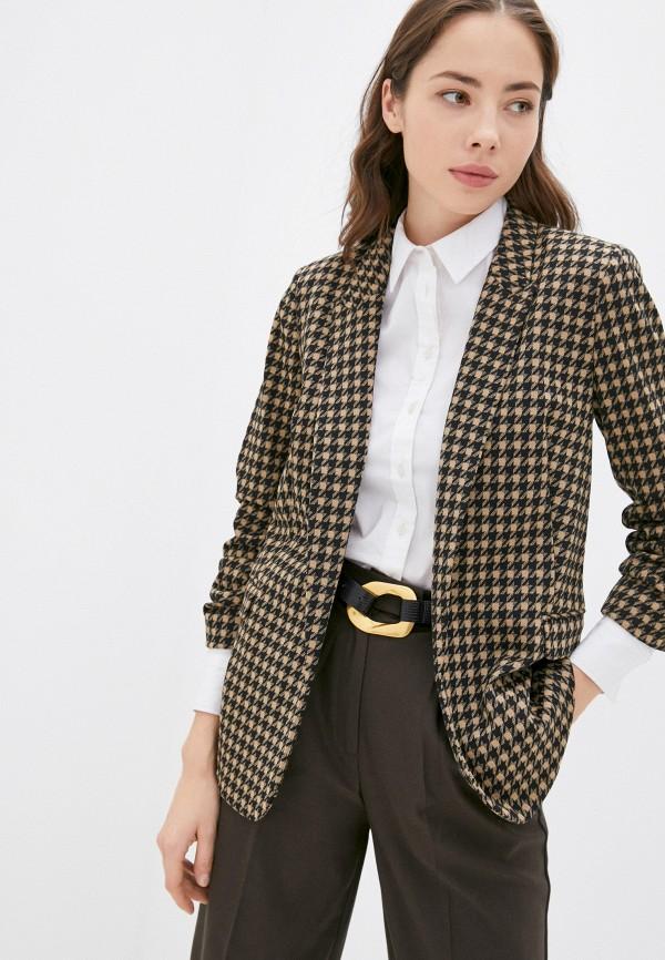 женский пиджак marks & spencer, бежевый