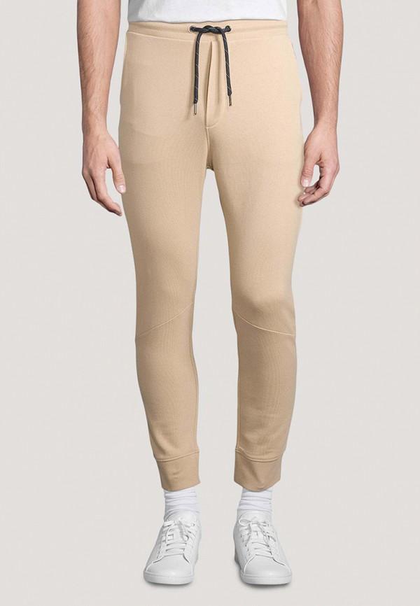 мужские спортивные брюки tom tailor, бежевые