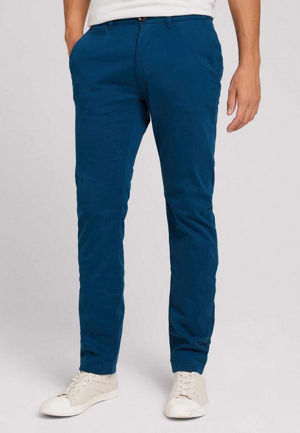 мужские брюки чинос tom tailor, синие
