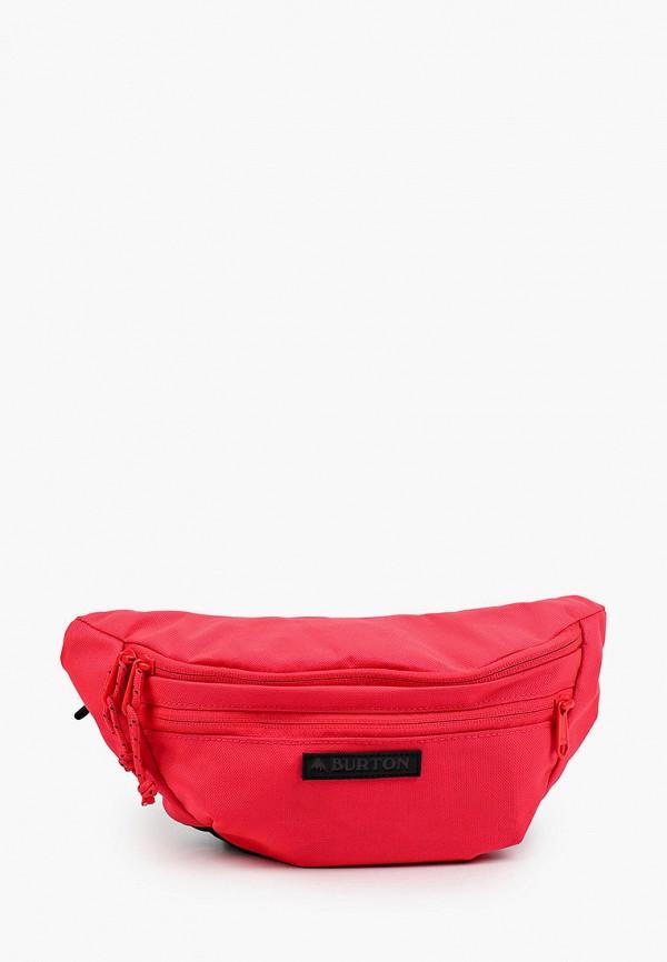 женская поясные сумка burton, розовая