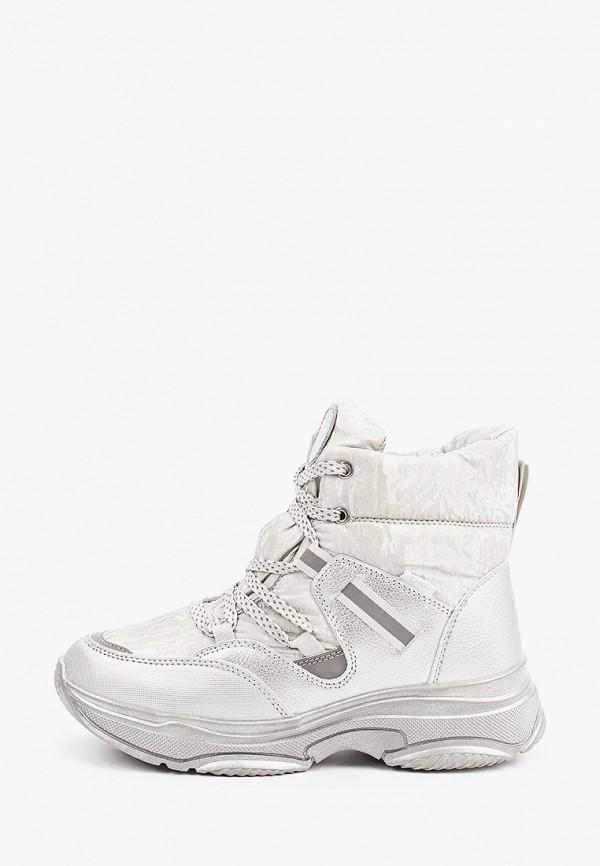 ботинки котофей для девочки, белые