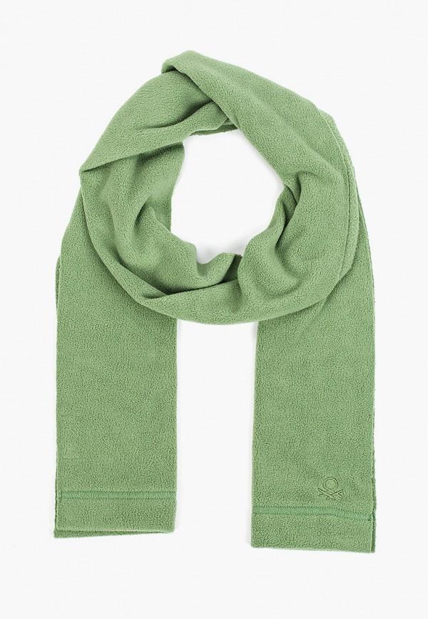 шарф united colors of benetton для мальчика, зеленый