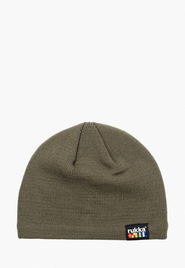 мужская шапка rukka, хаки