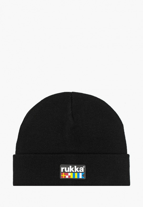 мужская шапка rukka, черная