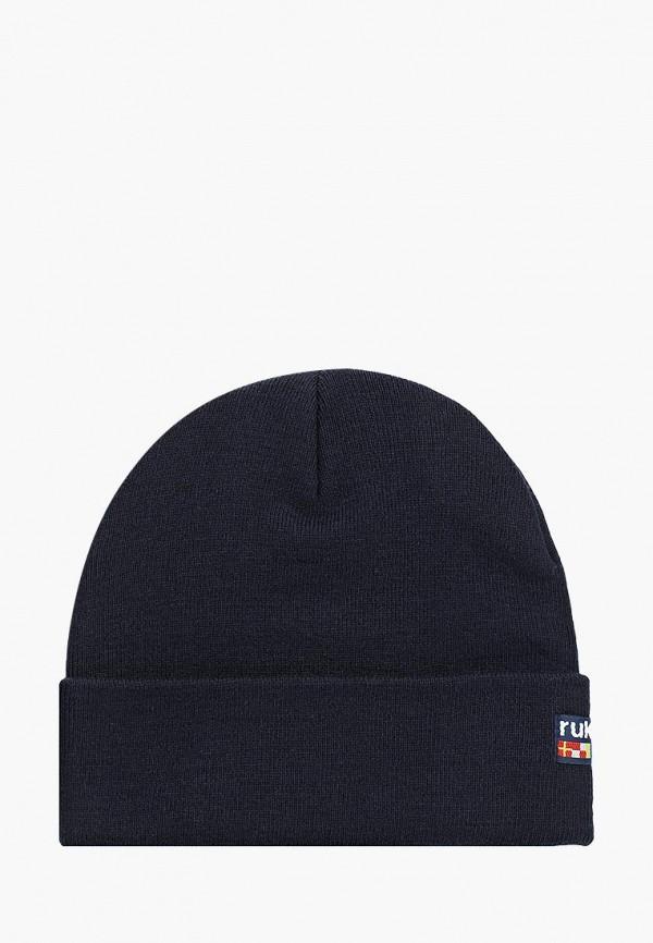 женская шапка rukka, синяя