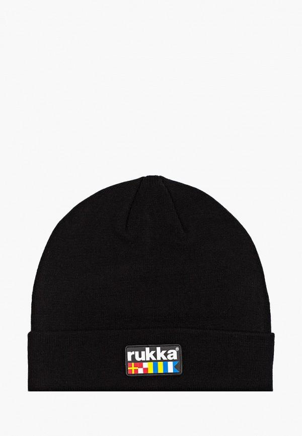 женская шапка rukka, черная