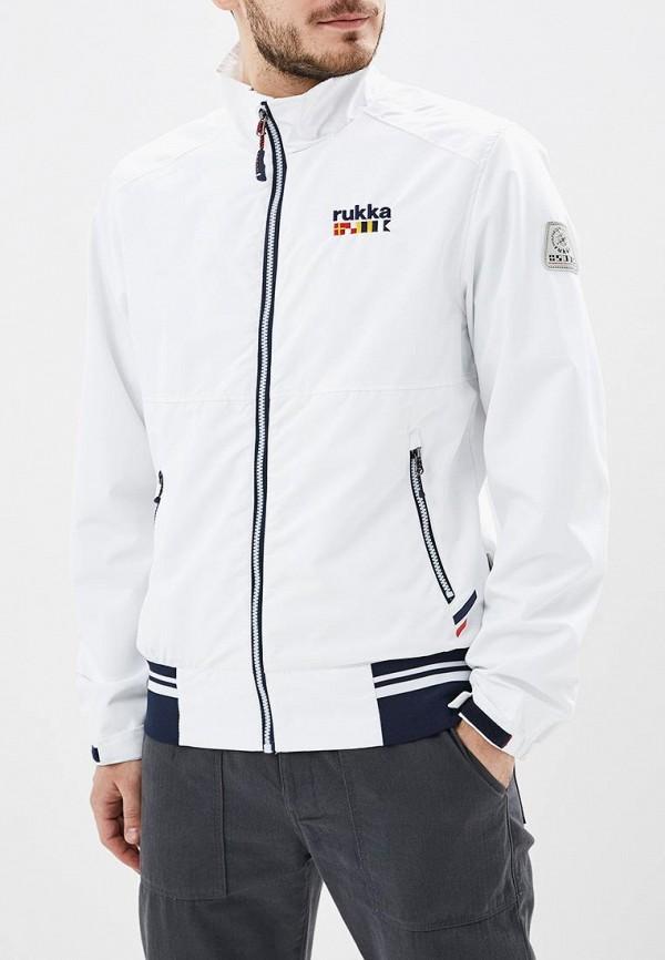 мужская куртка rukka, белая