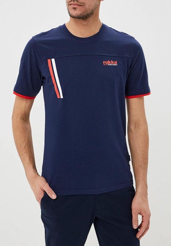 мужская спортивные футболка rukka, синяя