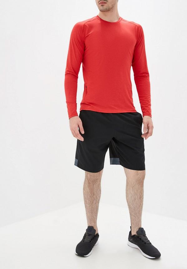 Фото 2 - Лонгслив спортивный Rukka красного цвета