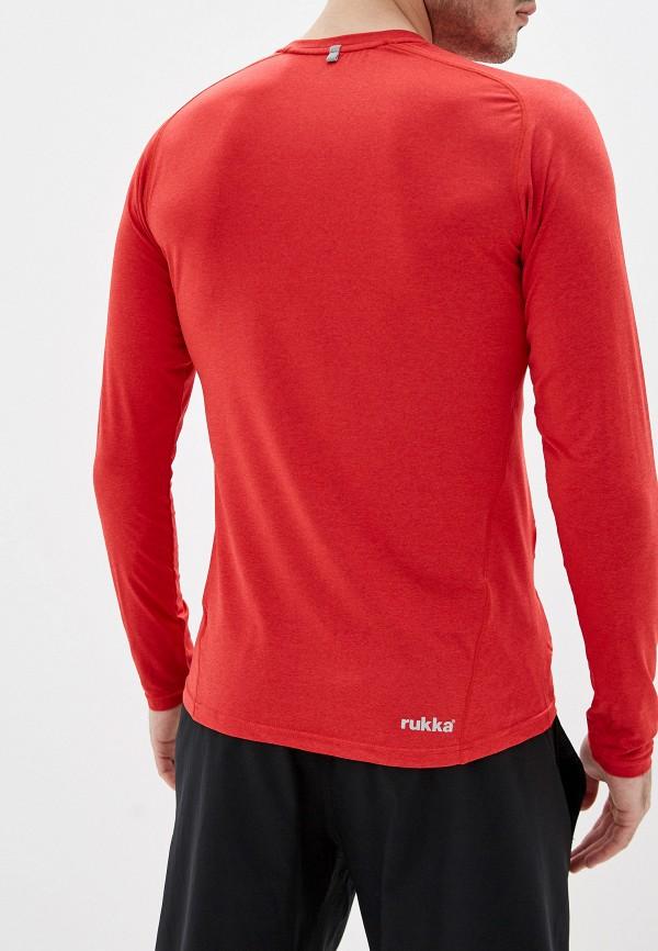 Фото 3 - Лонгслив спортивный Rukka красного цвета