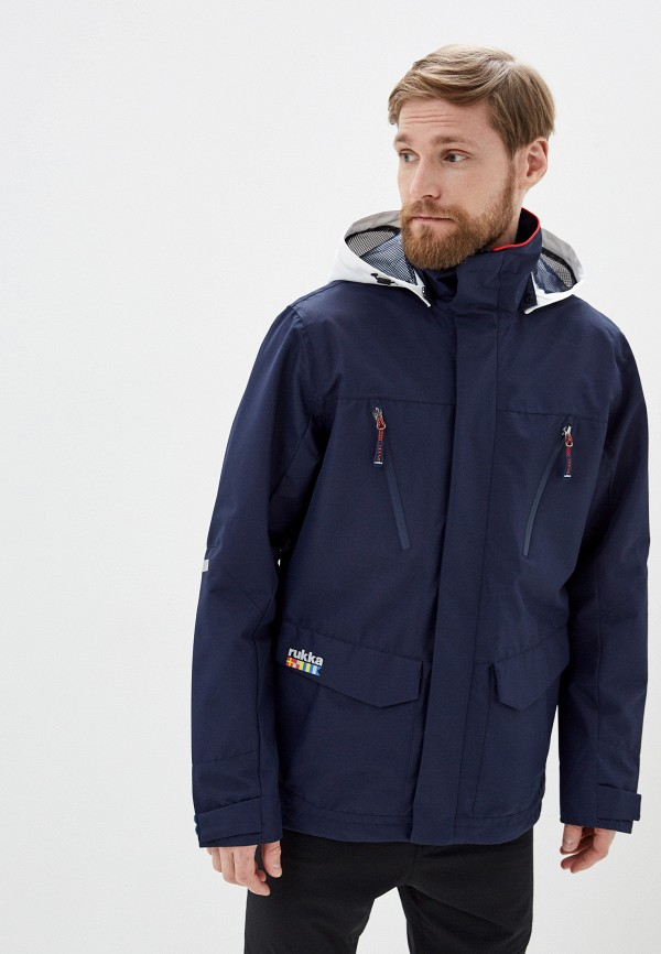 мужская куртка rukka, синяя