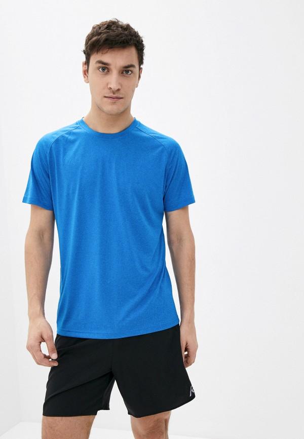 мужская спортивные футболка rukka, голубая
