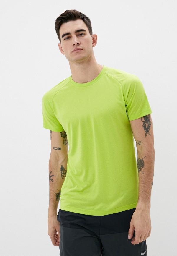 мужская спортивные футболка rukka, зеленая
