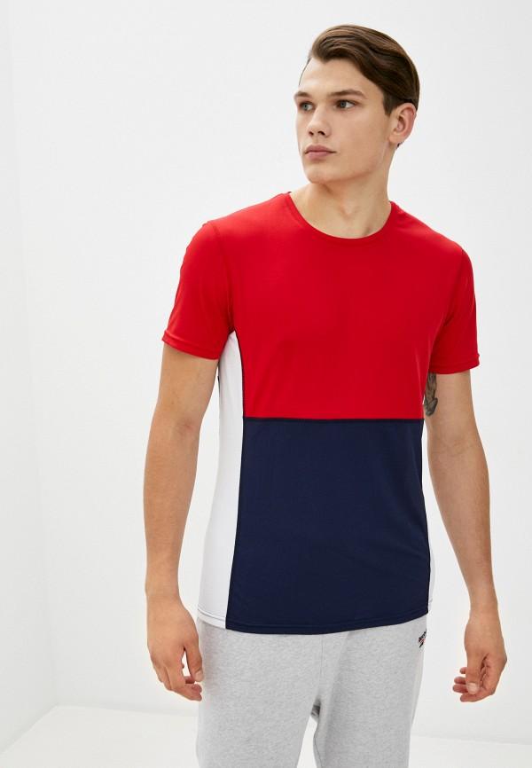 мужская спортивные футболка rukka, разноцветная
