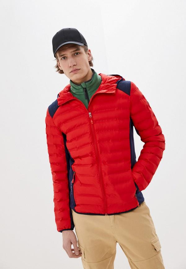 мужская куртка rukka, красная