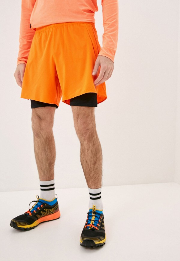 мужские спортивные шорты rukka, оранжевые