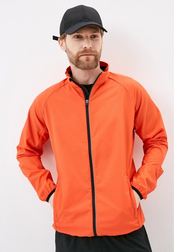 мужская ветровка rukka, оранжевая