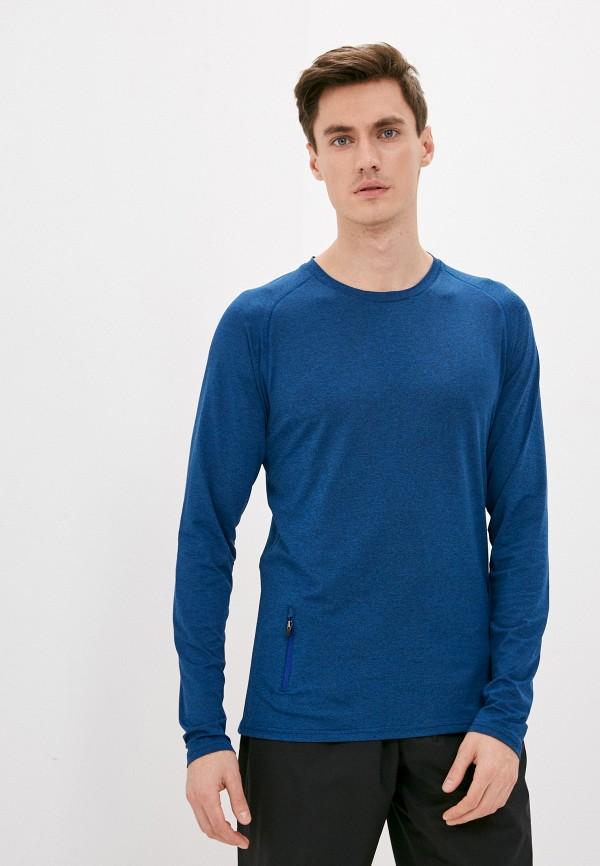 мужской лонгслив rukka, синий