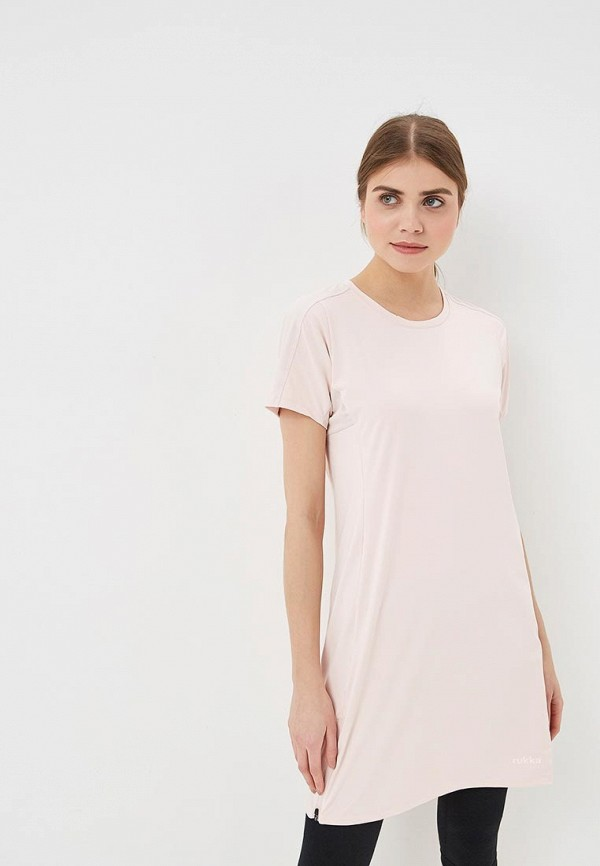 женское спортивные платье rukka, розовое