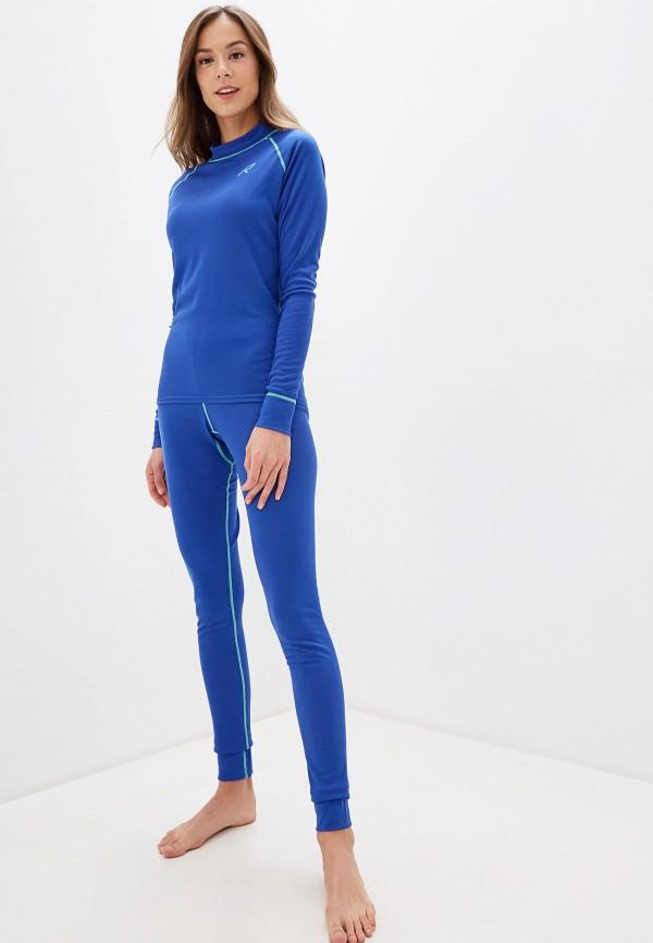 женское термобелье rukka, синее