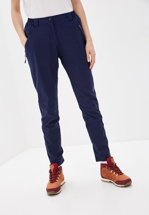 женские брюки rukka, синие