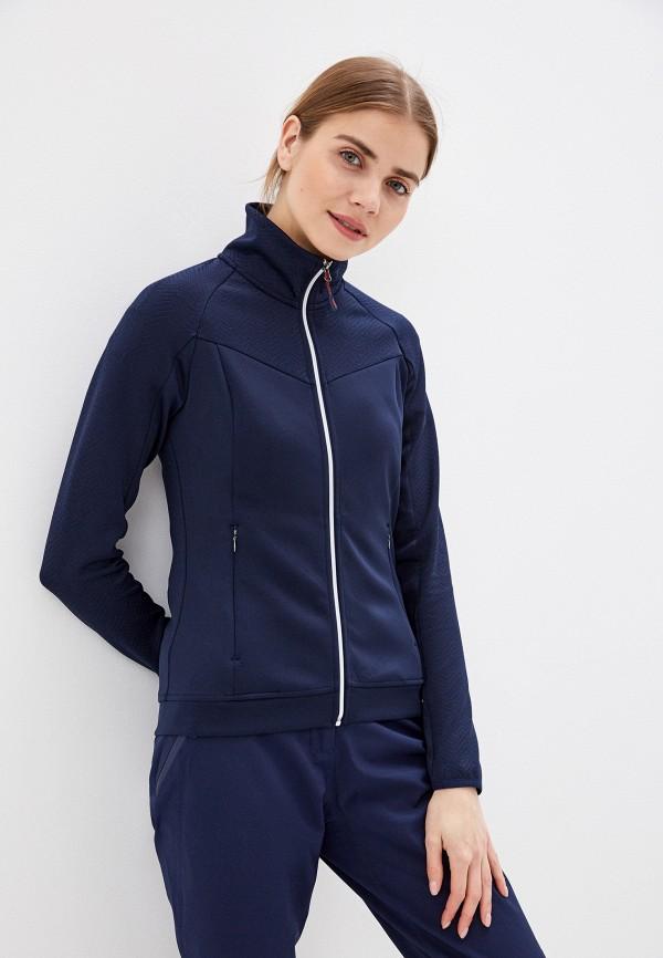 женская олимпийка rukka, синяя