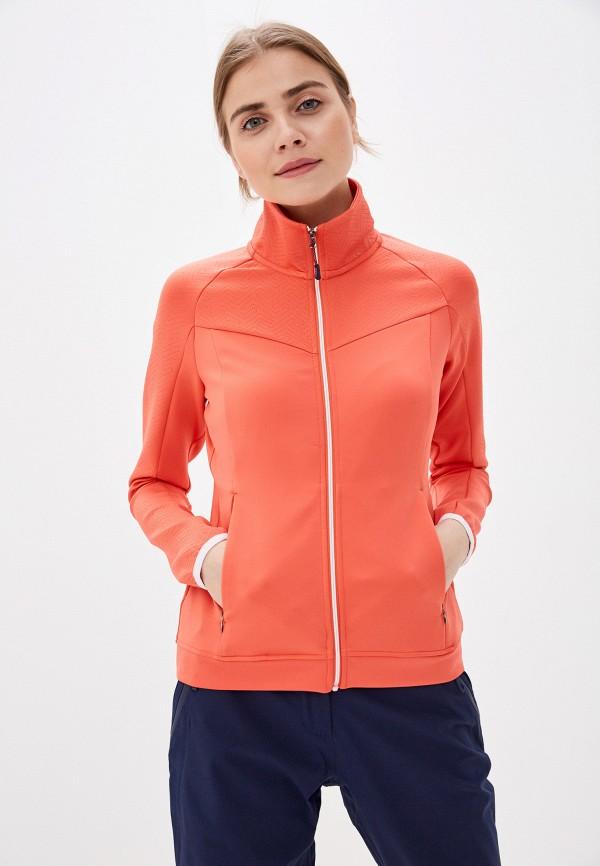 женская олимпийка rukka, оранжевая