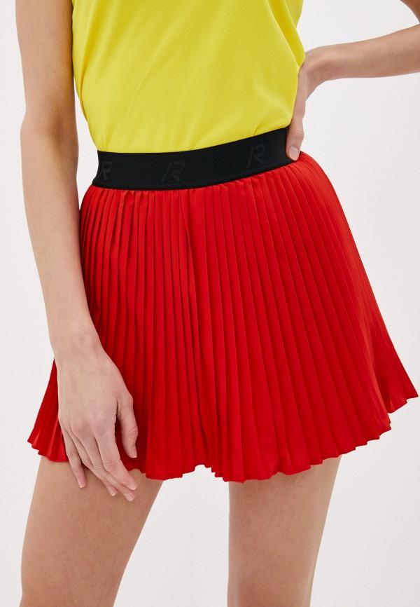 женская спортивные юбка rukka, красная