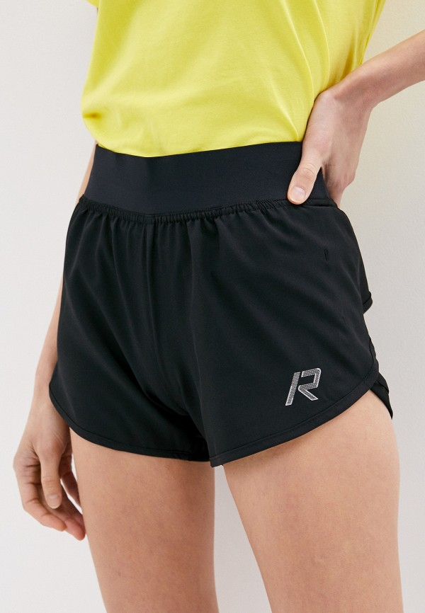 женские спортивные шорты rukka, черные