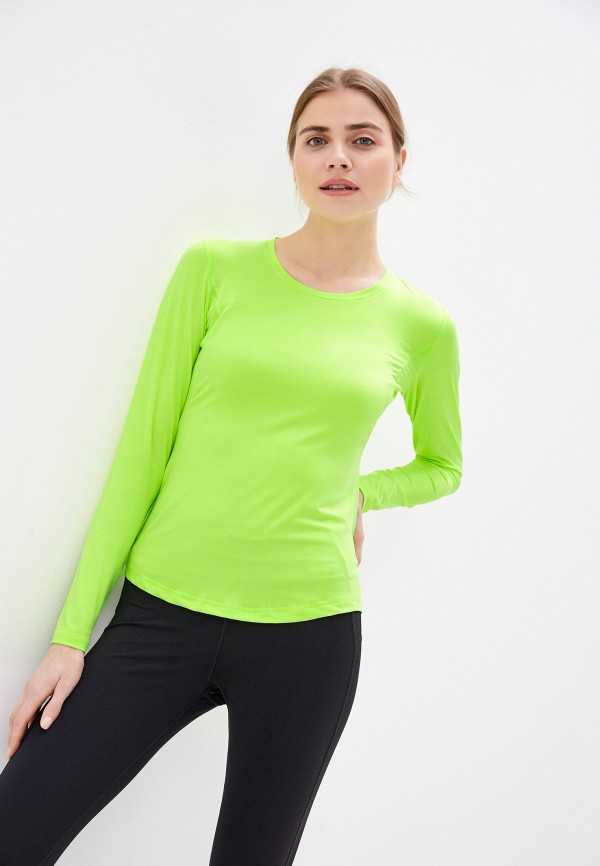 женский лонгслив rukka, зеленый