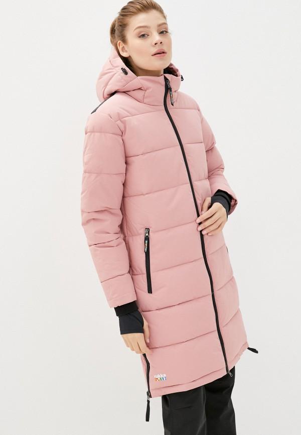женская куртка rukka, розовая