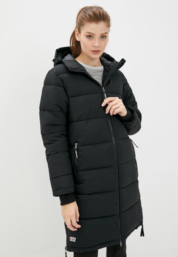 женская куртка rukka, черная