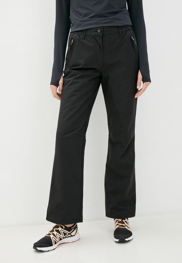 женские брюки rukka, черные