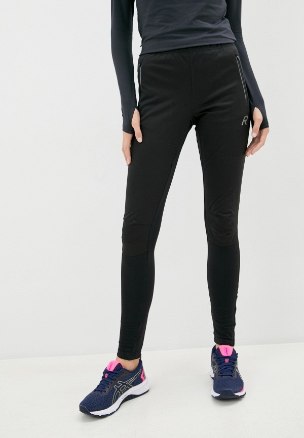 женские спортивные брюки rukka, черные