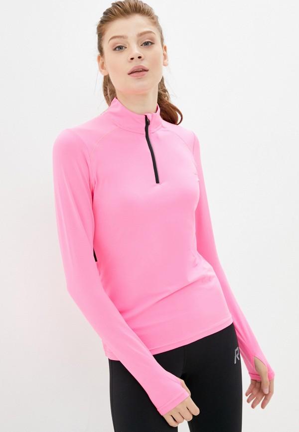 женский лонгслив rukka, розовый
