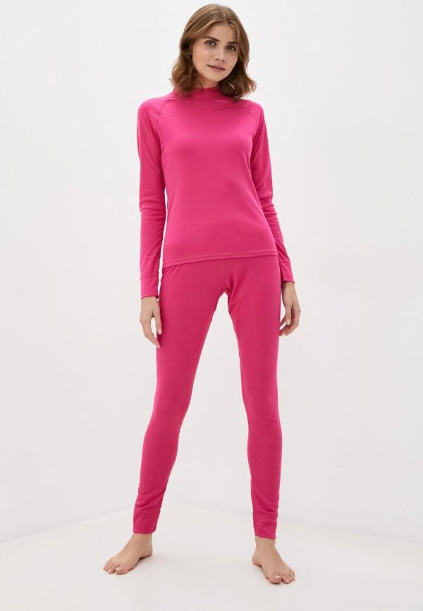 женское термобелье rukka, розовое