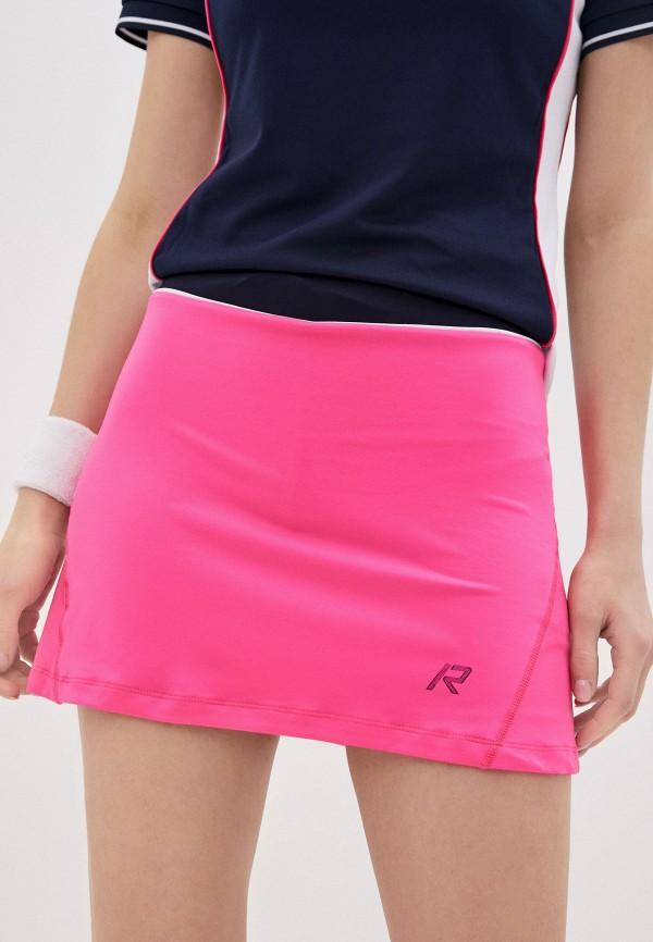 женская спортивные юбка rukka, розовая